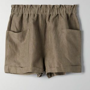 Wilfred Free Harulia Shorts High Waist Linen Small